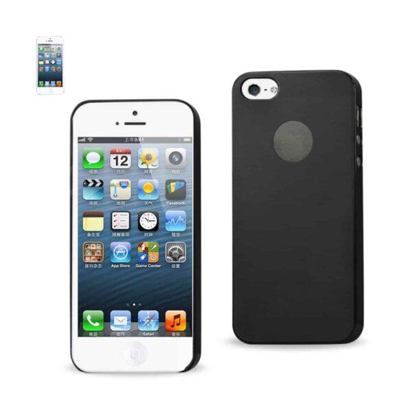 IPHONE SE/ 5S/ 5 SEMI CLEAR CANDY CASE IN BLACK