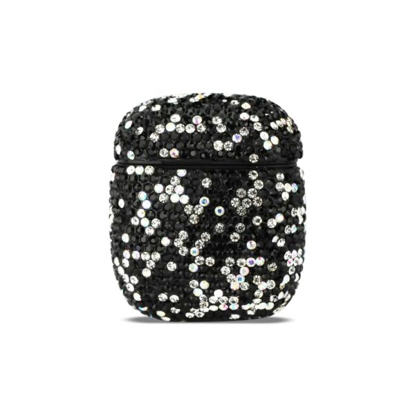 Case with Diamond for Airpods in Black