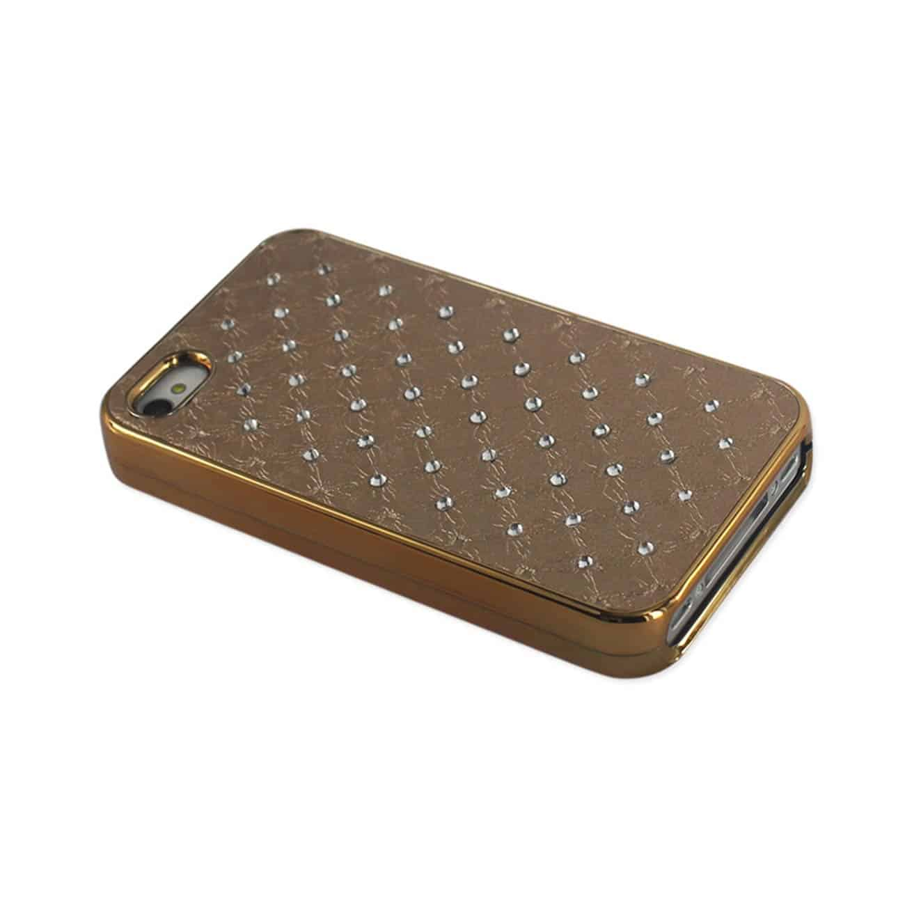 IPHONE 4G JEWELRY DIAMOND STUDS CASE IN BEIGE