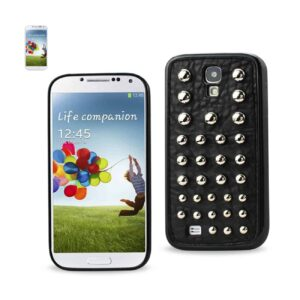 SAMSUNG GALAXY S4 SPHERE STUDDED CASE IN BLACK