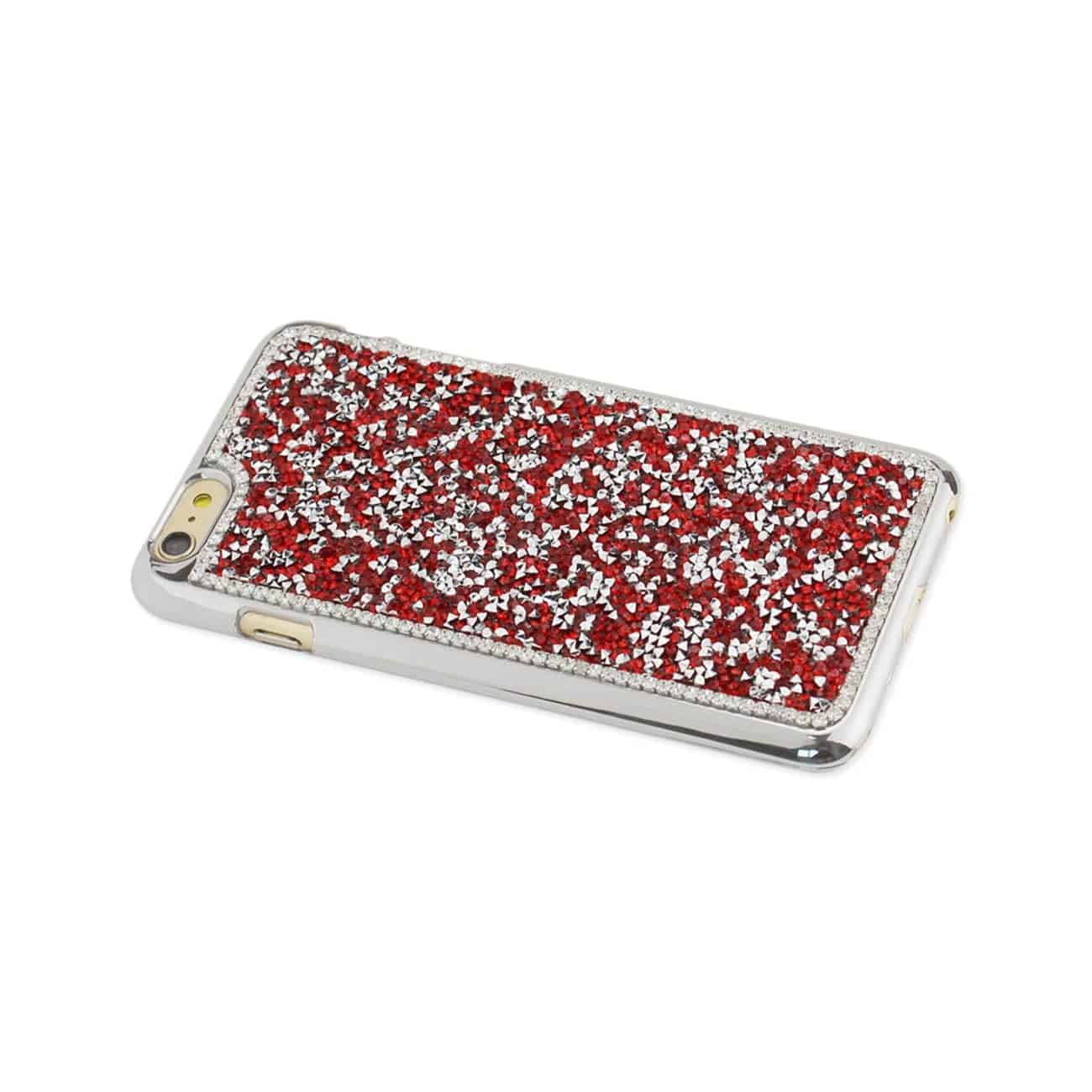 IPHONE 6 PLUS/ 6S PLUS JEWELRY BLING RHINESTONE CASE IN RED
