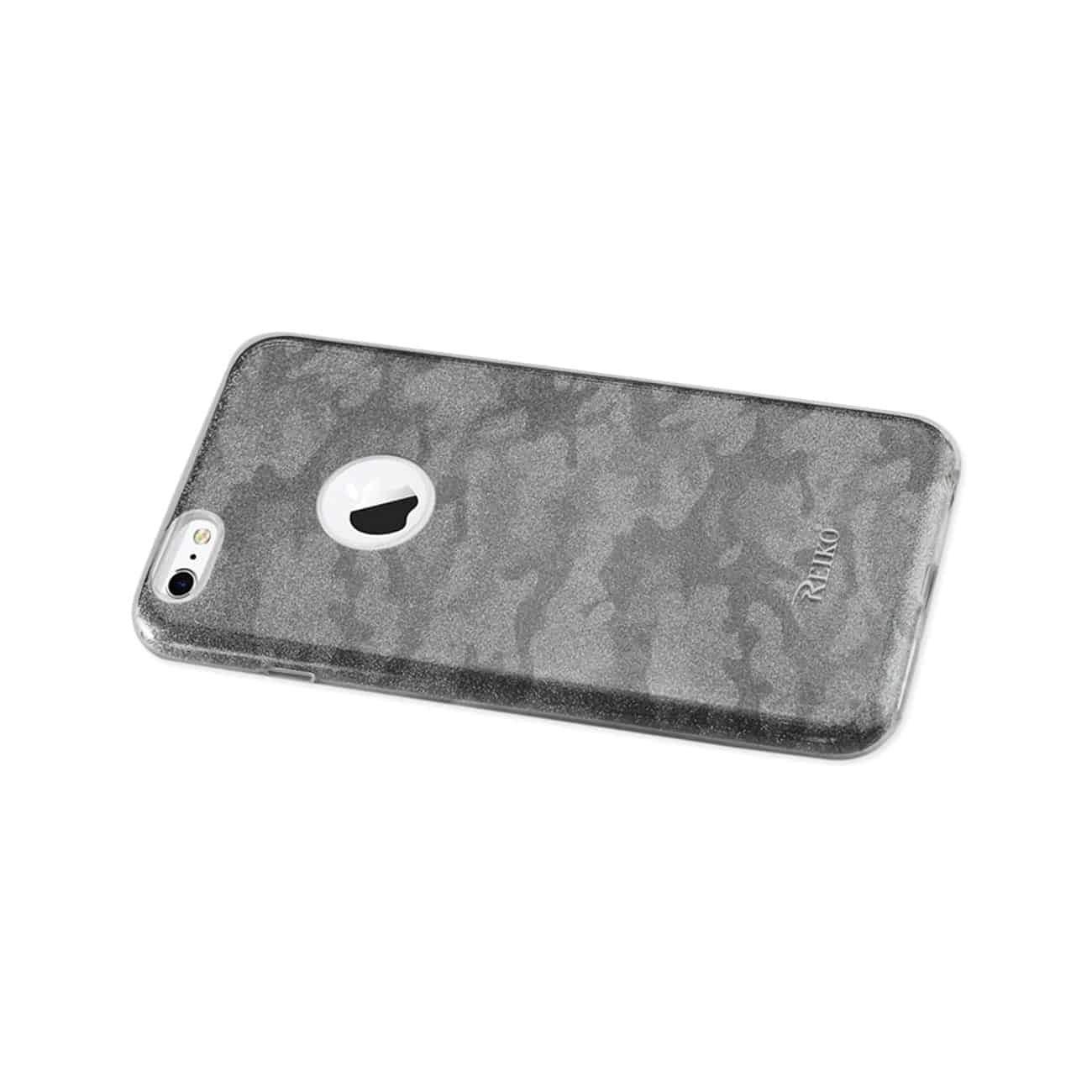 IPHONE 6 PLUS/ 6S PLUS SHINE GLITTER SHIMMER CAMOUFLAGE HYBRID CASE IN BROWN