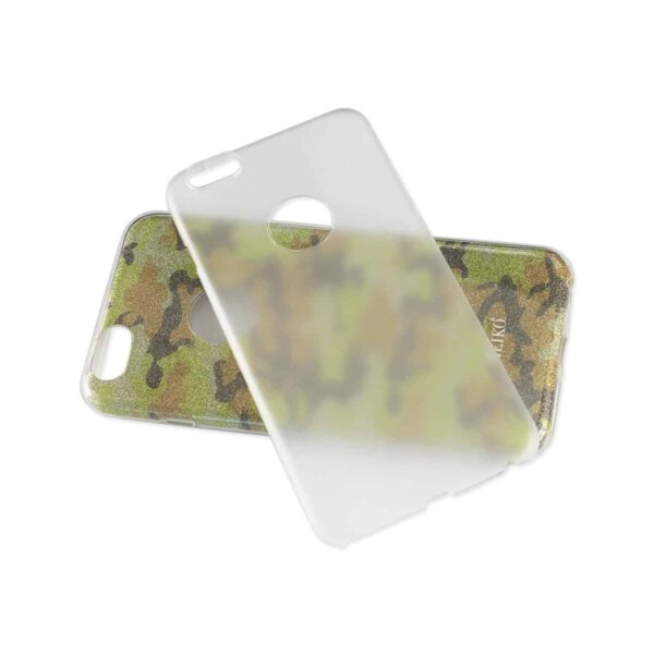 IPHONE 6 PLUS/ 6S PLUS SHINE GLITTER SHIMMER CAMOUFLAGE HYBRID CASE IN CAMOUFLAGE YELLOW