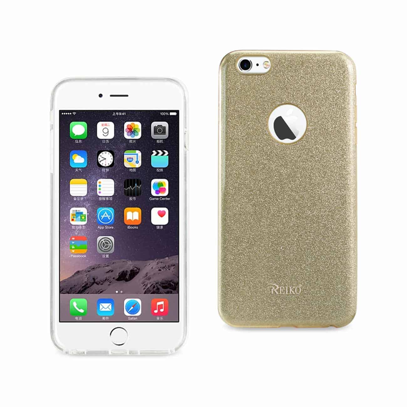 IPHONE 6 PLUS/ 6S PLUS SHINE GLITTER SHIMMER HYBRID CASE IN GOLD