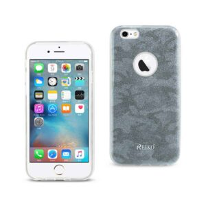 IPHONE 6/ 6S SHINE GLITTER SHIMMER CAMOUFLAGE HYBRID CASE IN BLUE