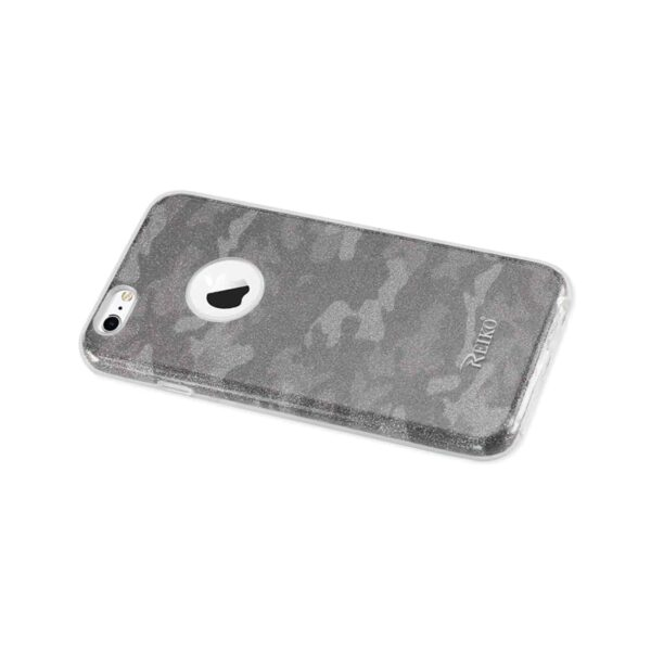 IPHONE 6/ 6S SHINE GLITTER SHIMMER CAMOUFLAGE HYBRID CASE IN BROWN