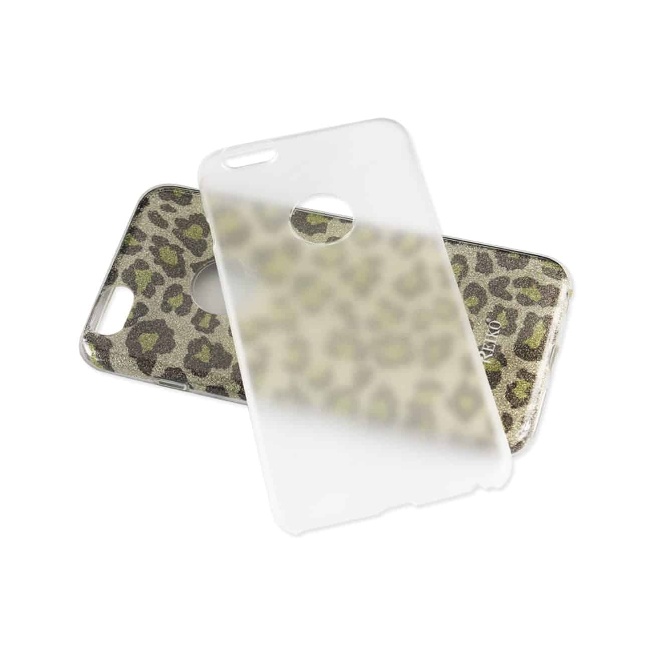 IPHONE 6/ 6S SHINE GLITTER SHIMMER LEOPARD HYBRID CASE IN LEOPARD GOLD