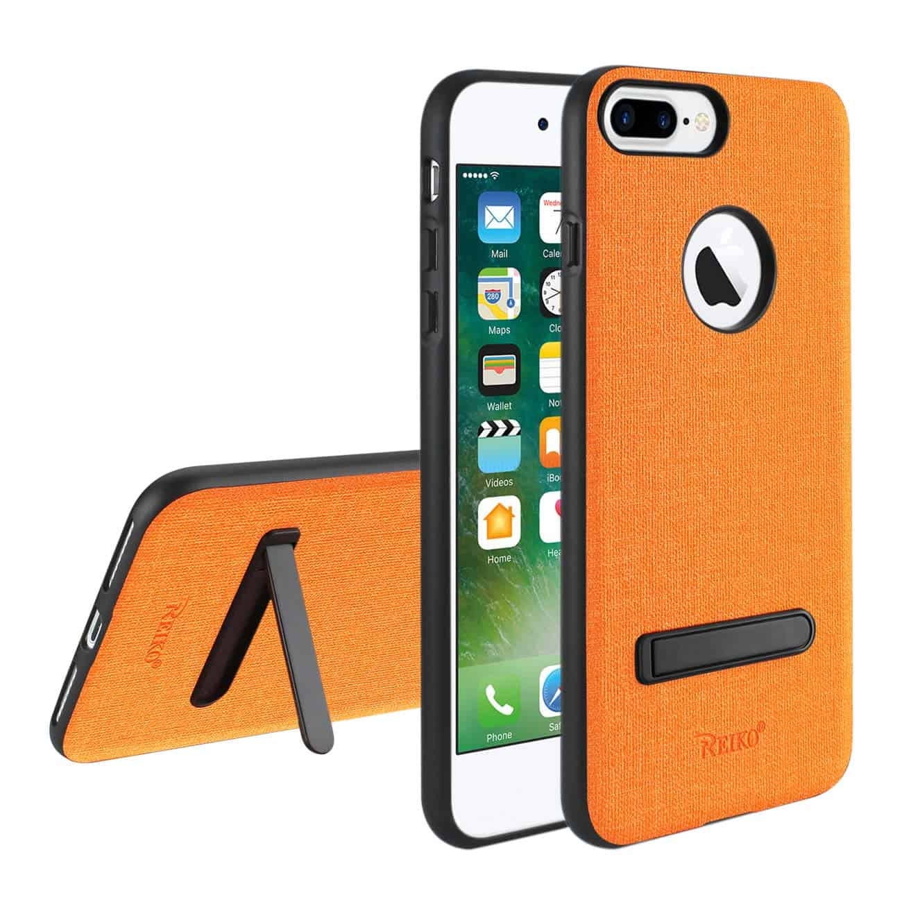 IPHONE 7 PLUS/ 6S PLUS/ 6 PLUS RUGGED TEXTURE TPU PROTECTIVE COVER IN ORANGE