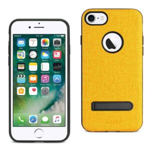 IPHONE 7/ 6/ 6S DENIM TEXTURE TPU PROTECTOR COVER IN YELLOW
