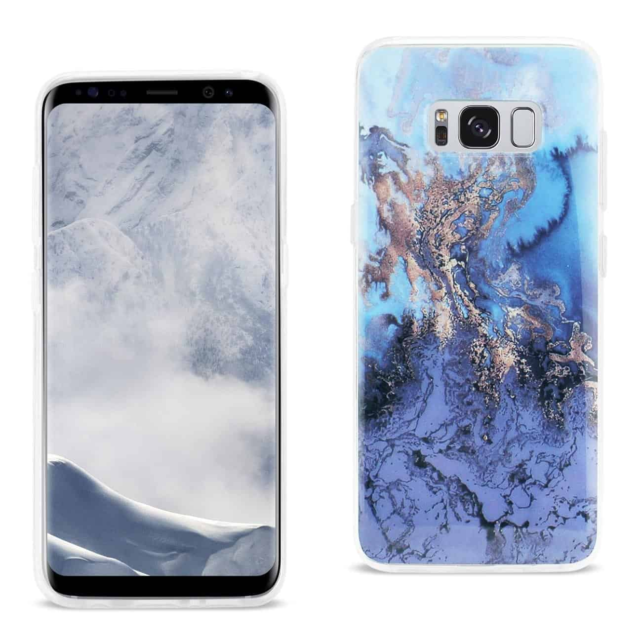 SAMSUNG GALAXY S8 EDGE/ S8 PLUS AZUL MIST COVER IN BLUE