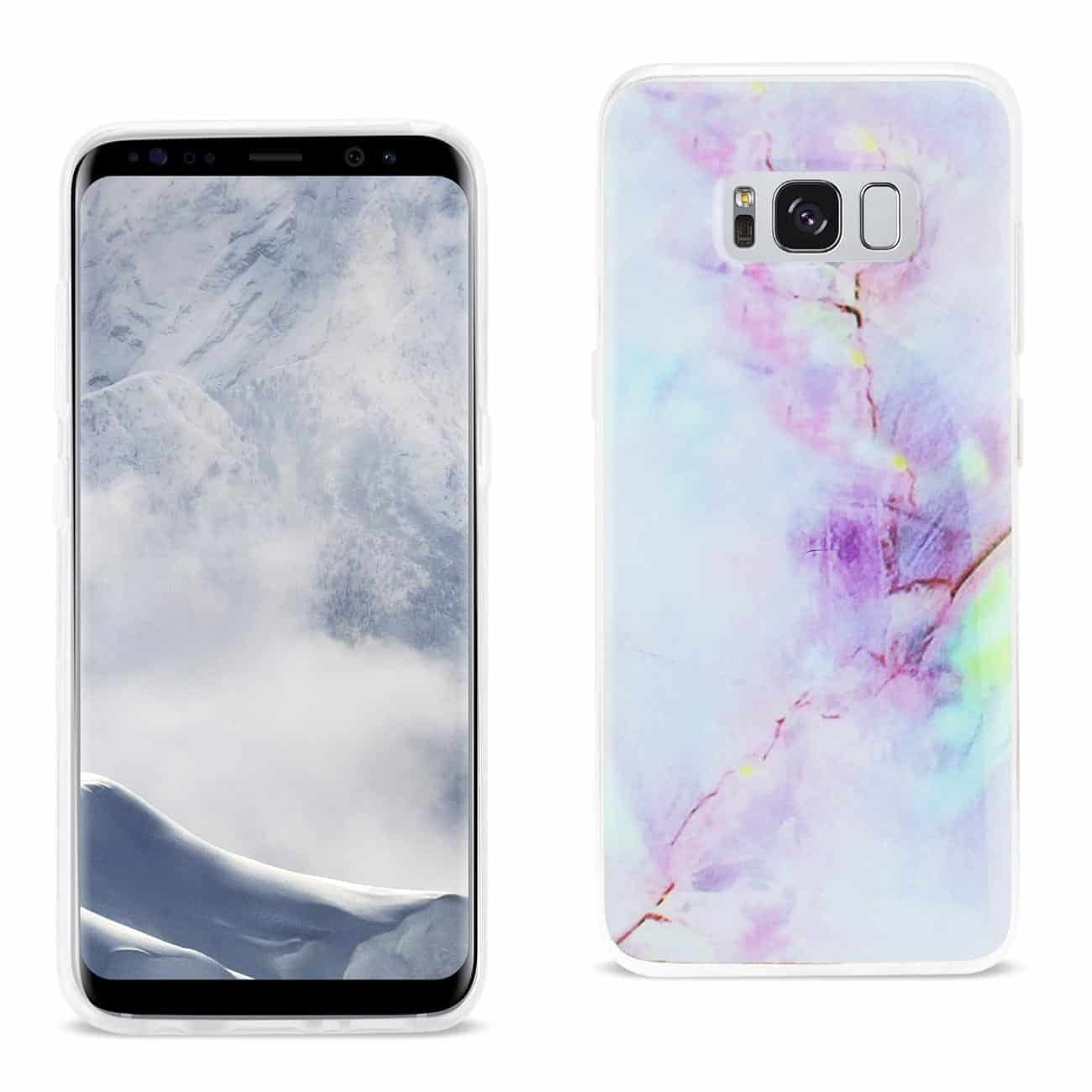 SAMSUNG GALAXY S8/ SM OPAL IPHONE COVER IN PURPLE