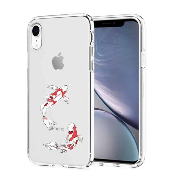 Apple iPhone XR Design Air Cushion Case With Fish  Design