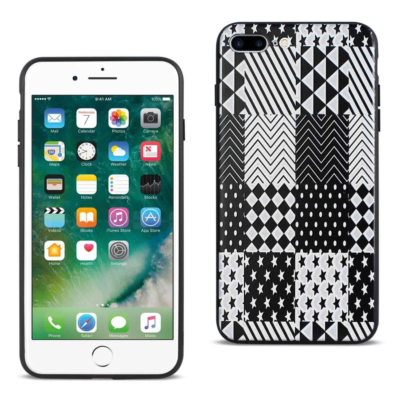 IPHONE 7 PLUS DESIGN TPU CASE WITH VERSATILE SHAPE PATTERNS