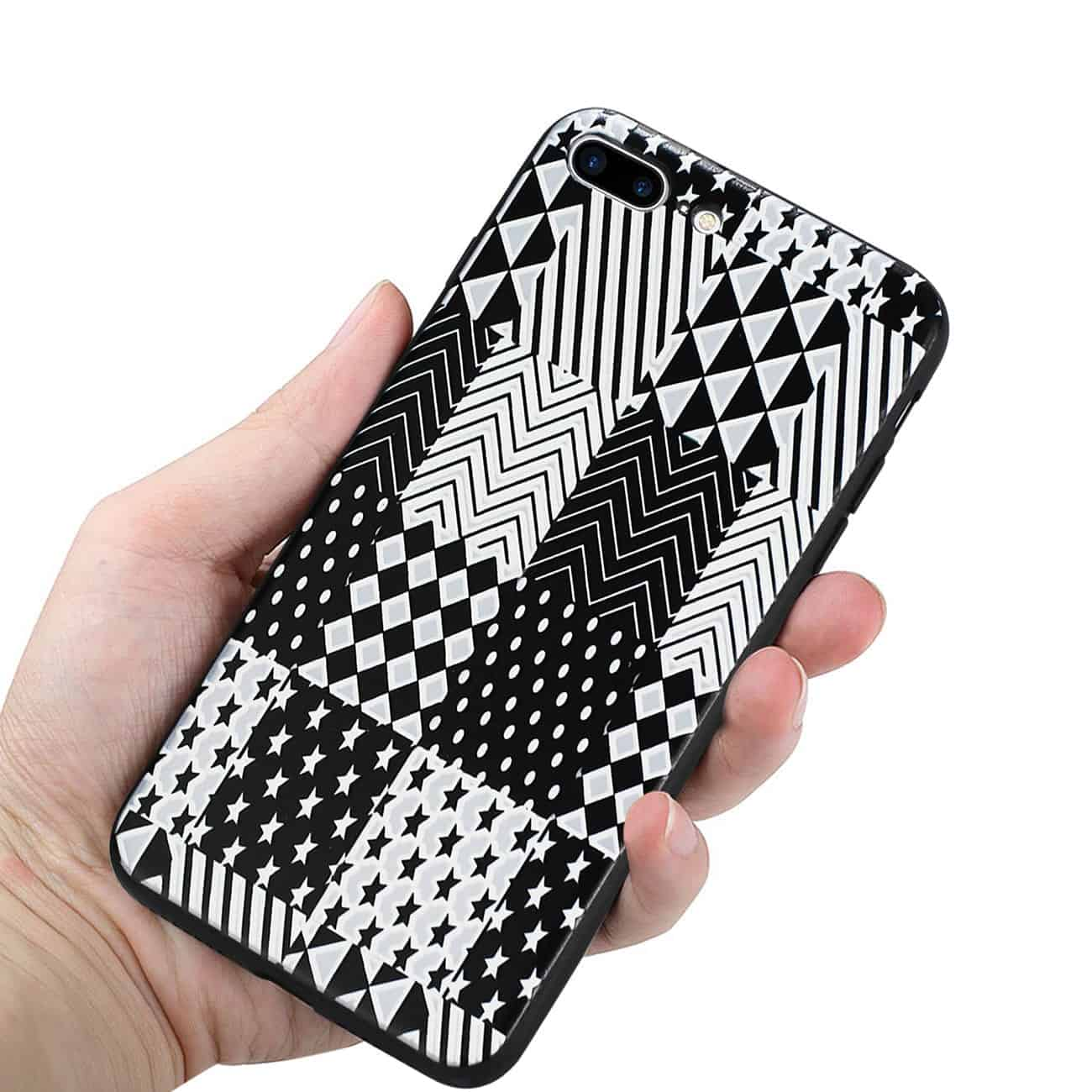IPHONE 7 PLUS DESIGN TPU CASE WITH VERSATILE SHAPE PATTERNS