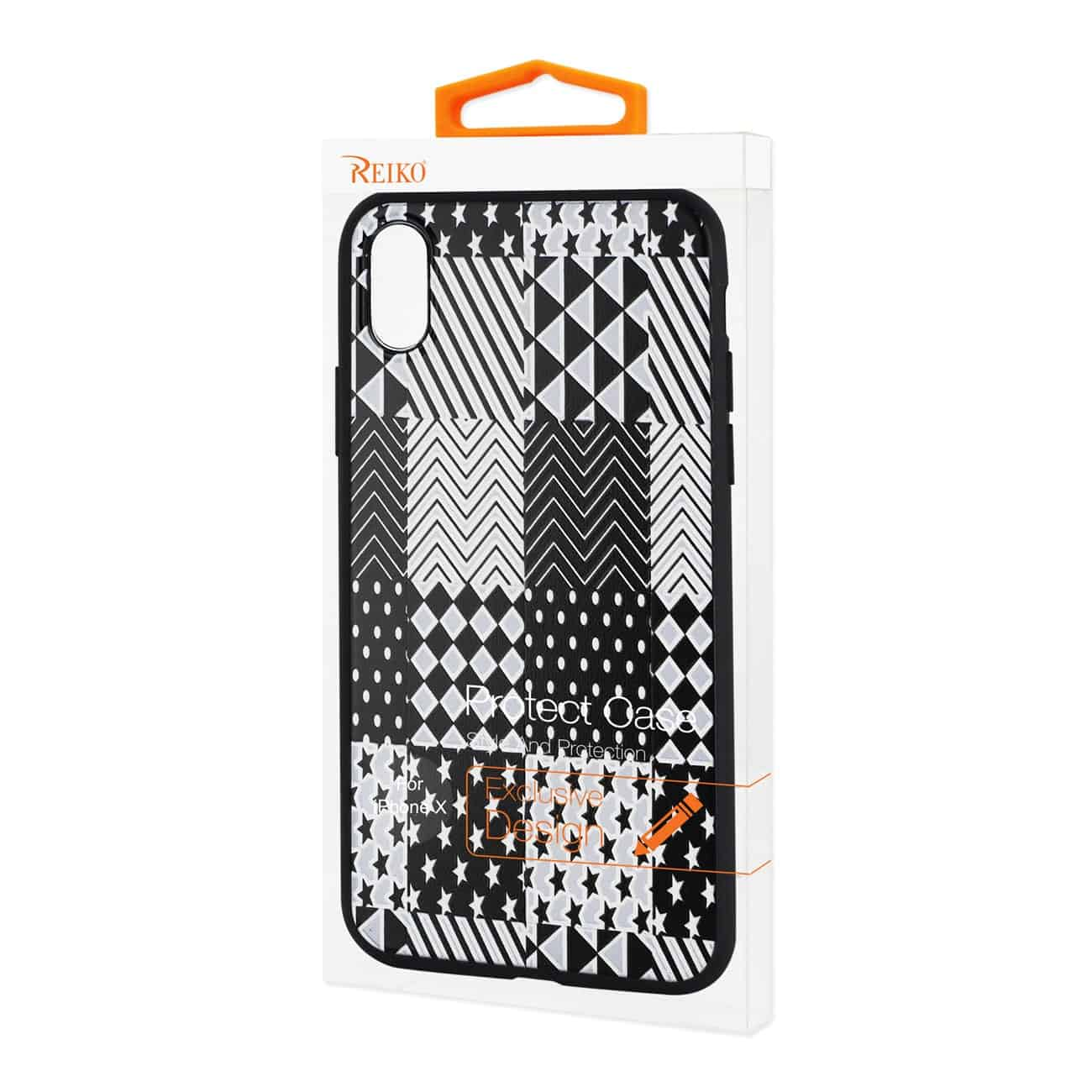 IPHONE X DESIGN TPU CASE WITH VERSATILE SHAPE PATTERNS