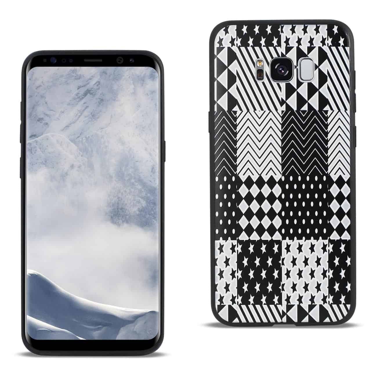 SAMSUNG GALAXY S8 EDGE DESIGN TPU CASE WITH VERSATILE SHAPE PATTERNS