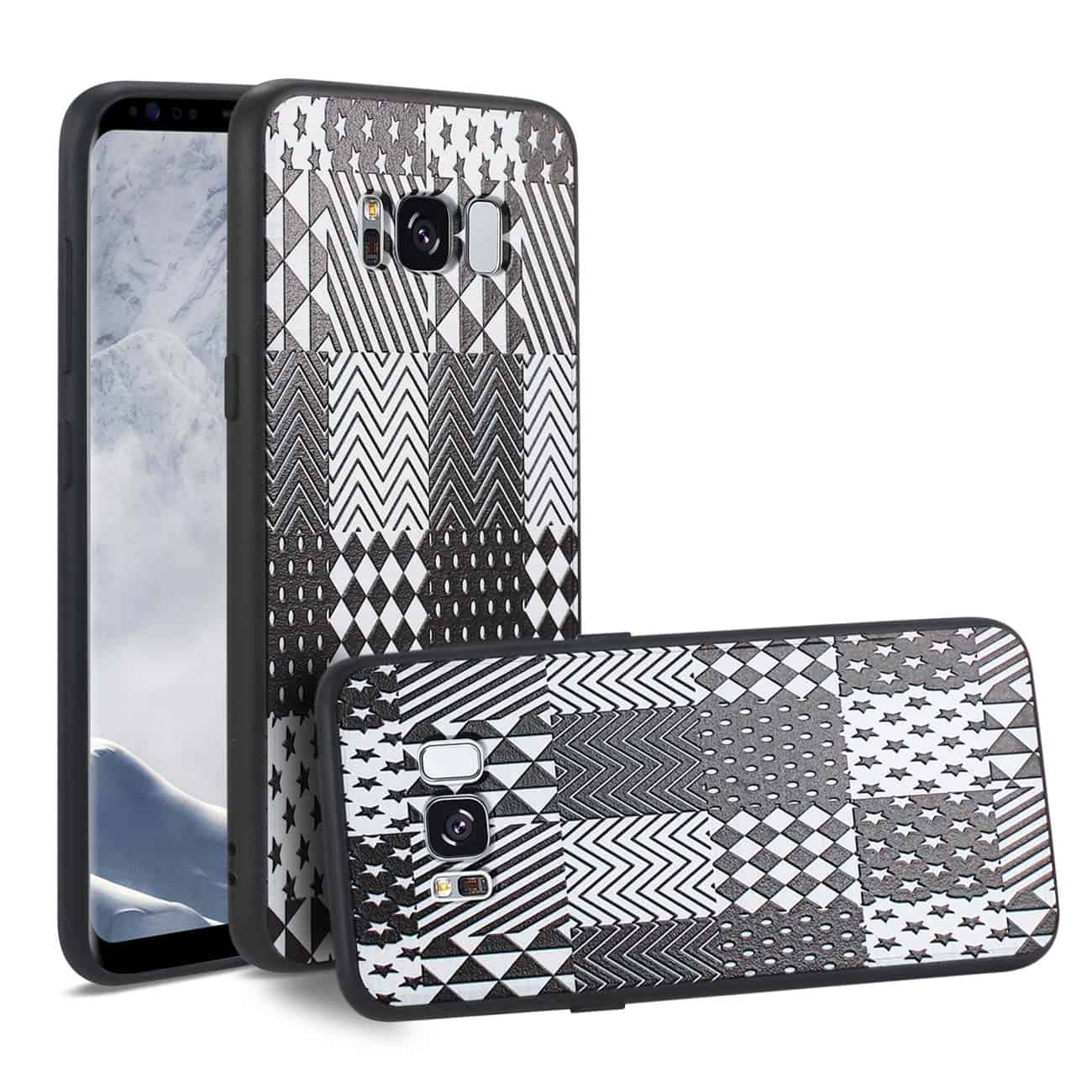 SAMSUNG GALAXY S8 DESIGN TPU CASE WITH VERSATILE SHAPE PATTERNS