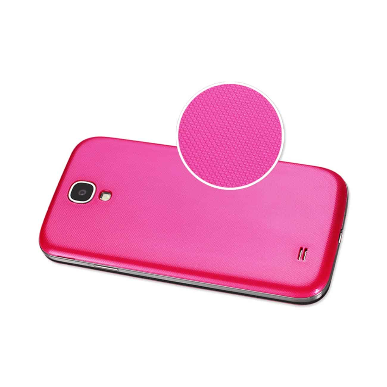 Fitting Case With Battery Cover Samsung Galaxy S4 Hot Pink