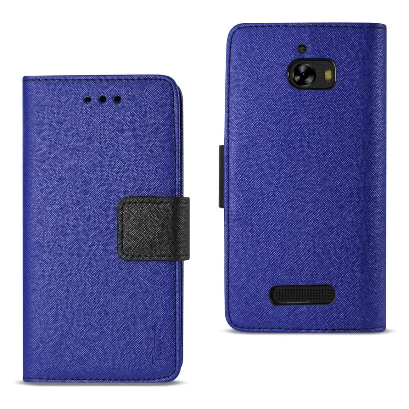 COOLPAD DEFIANT 3-IN-1 WALLET CASE IN NAVY