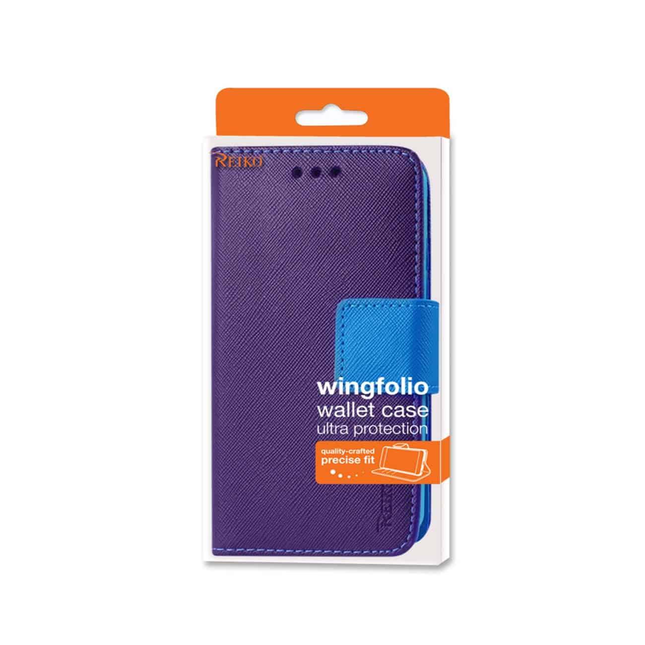 IPHONE 6 PLUS 3-IN-1 WALLET CASE IN PURPLE