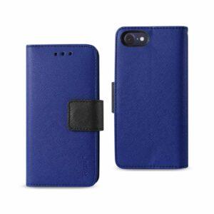iPhone 8/ 7 3-In-1 Wallet Case In Navy