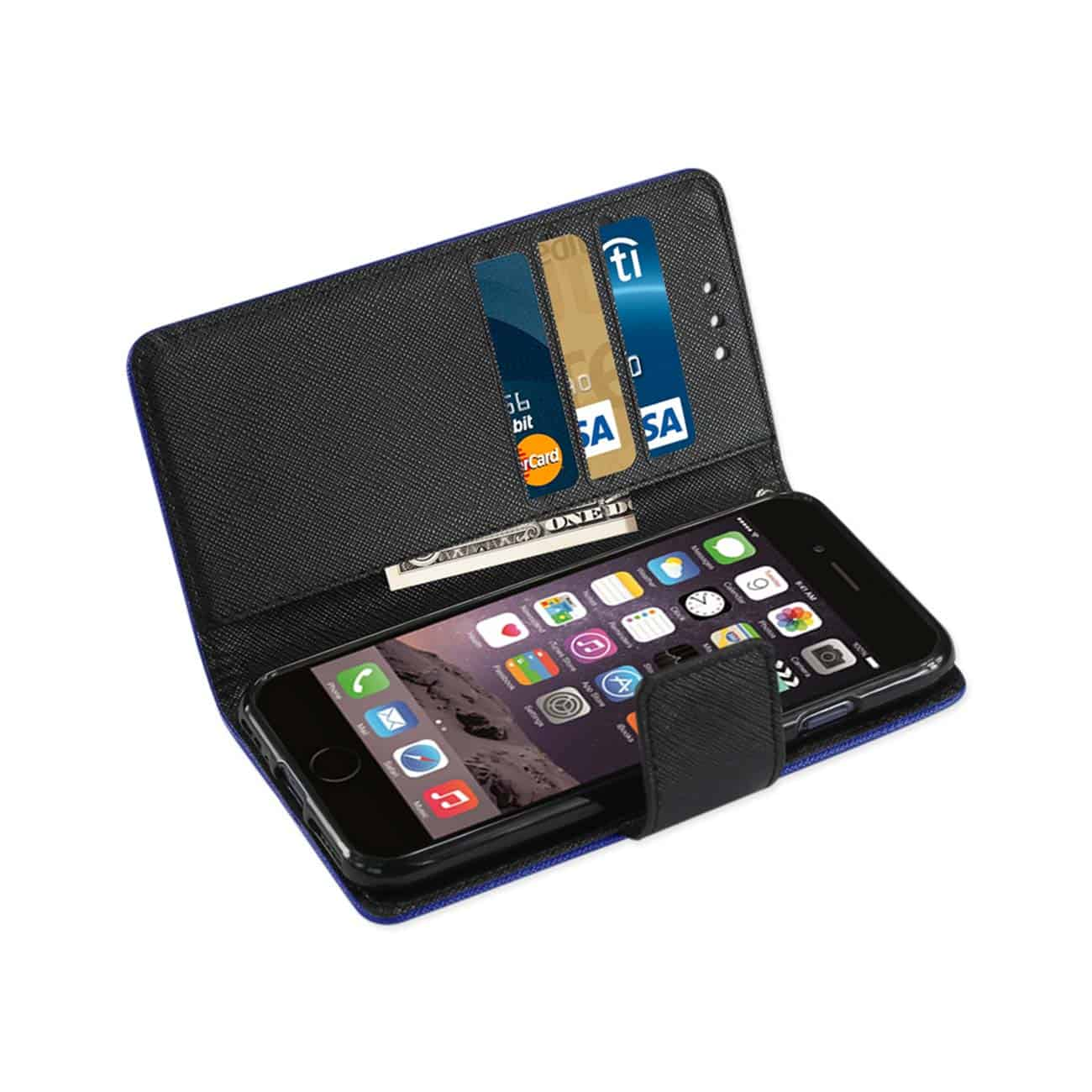 iPhone 8/ 7 3-In-1 Wallet Case In Navy