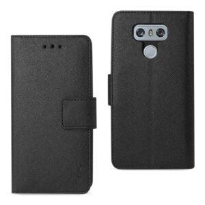 LG G6 3-IN-1 WALLET CASE IN BLACK