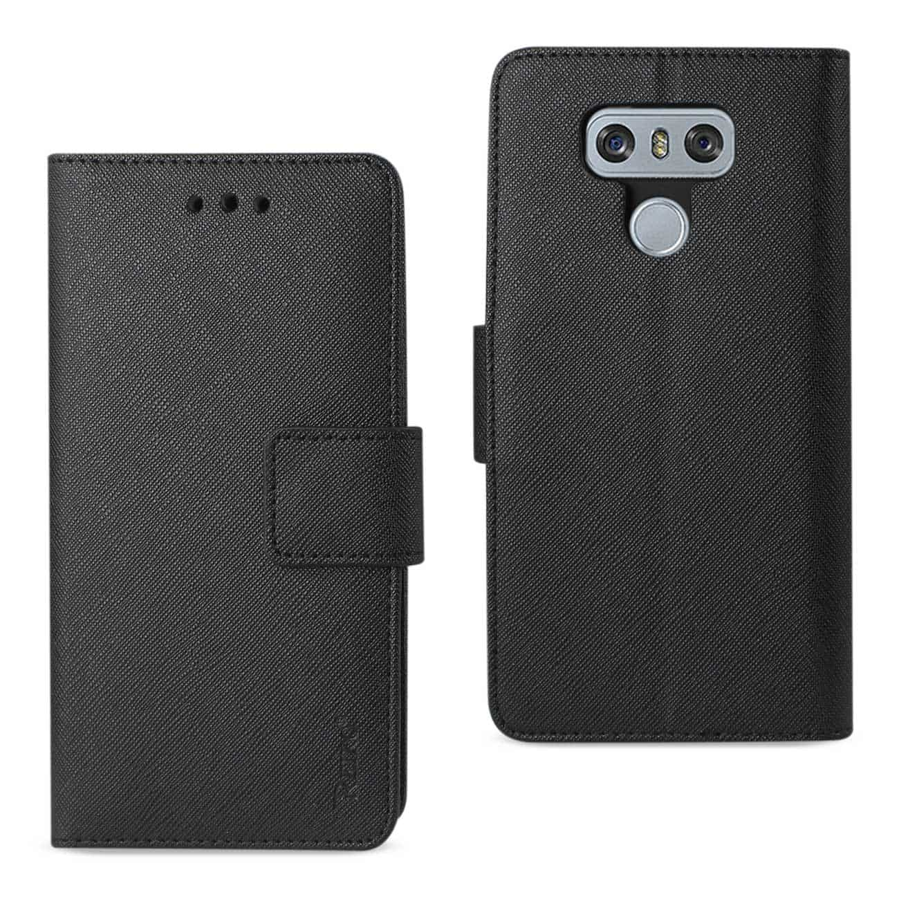 LG G6 3-IN-1 WALLET CASE IN BLACK