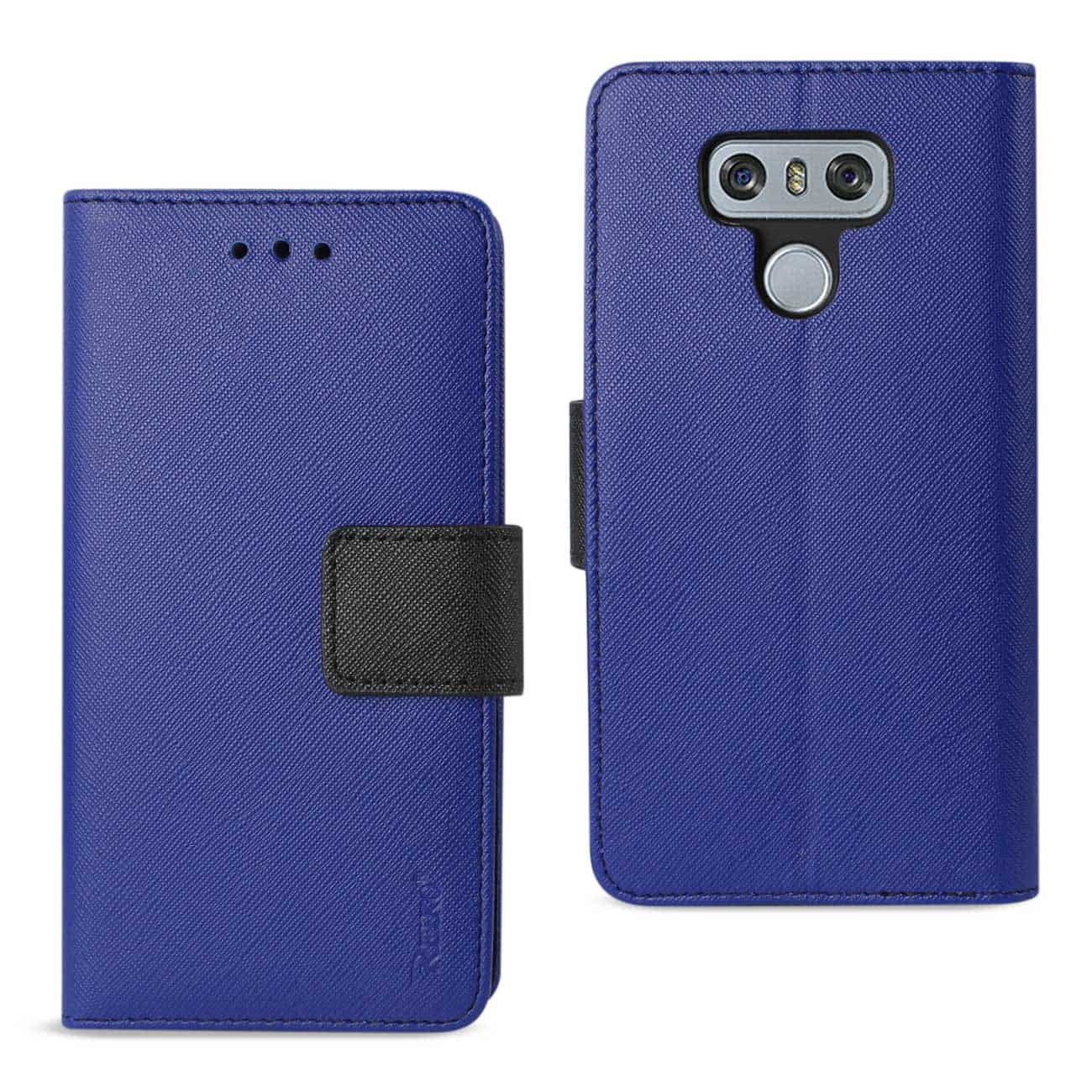 LG G6 3-IN-1 WALLET CASE IN NAVY