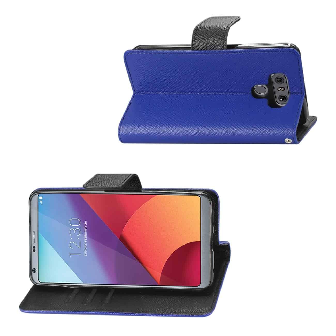 LG G6 3-IN-1 WALLET CASE IN NAVY