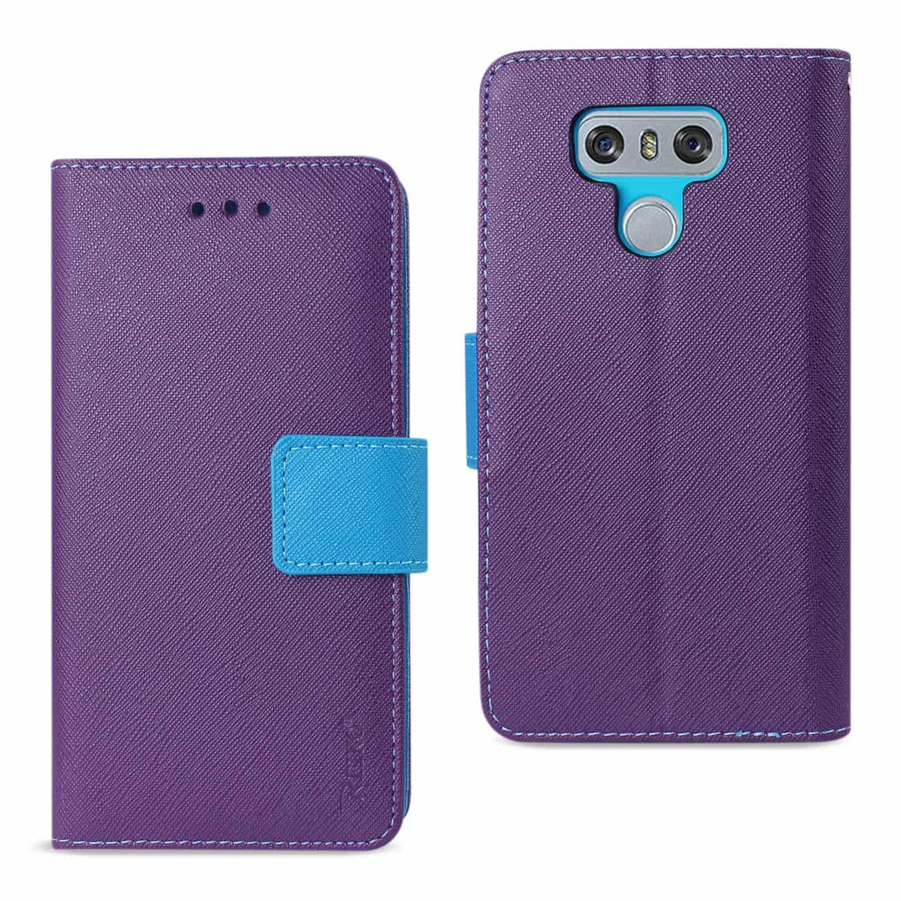 LG G6 3-IN-1 WALLET CASE IN PURPLE