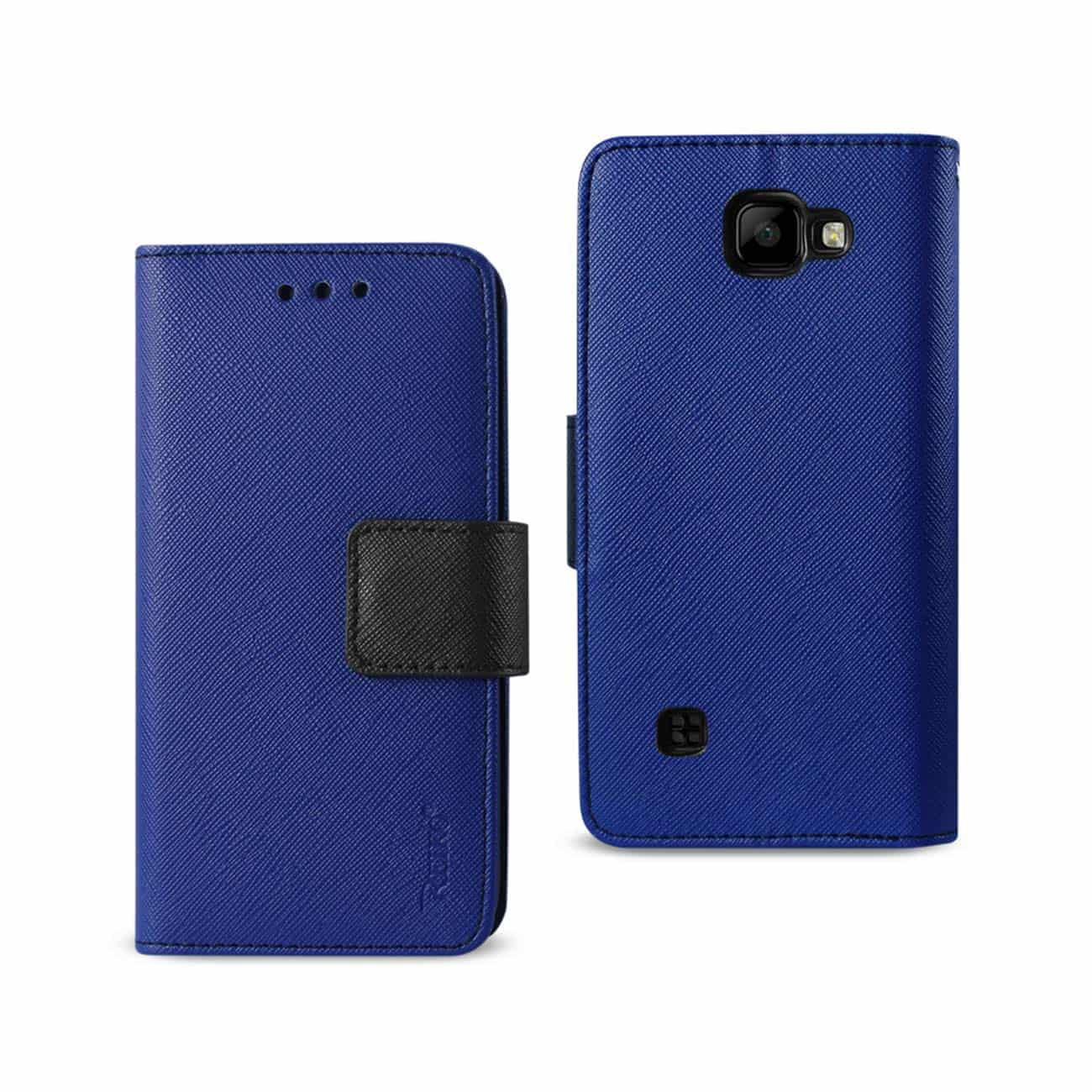 LG K3 3-IN-1 WALLET CASE IN NAVY