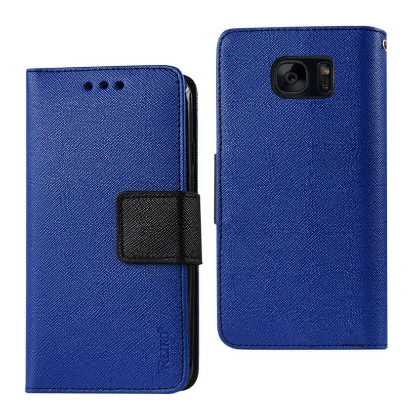SAMSUNG GALAXY S7 EDGE 3-IN-1 WALLET CASE IN NAVY