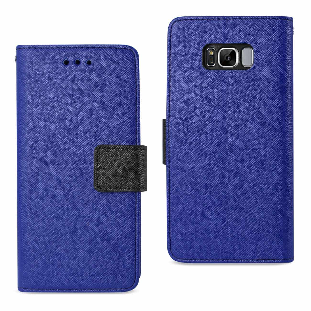 SAMSUNG GALAXY S8 EDGE/ S8 PLUS 3-IN-1 WALLET CASE IN NAVY