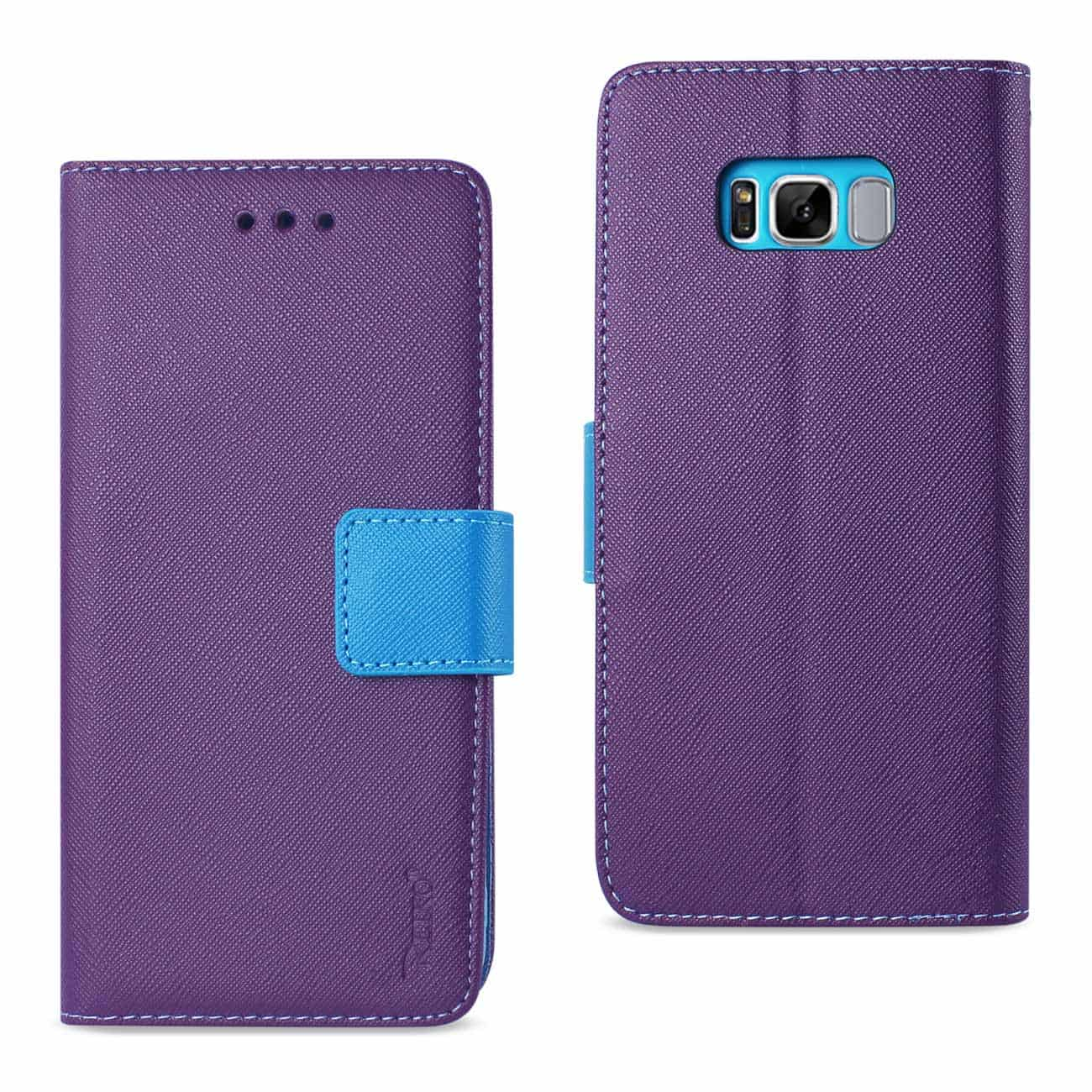 SAMSUNG GALAXY S8 EDGE/ S8 PLUS 3-IN-1 WALLET CASE IN PURPLE