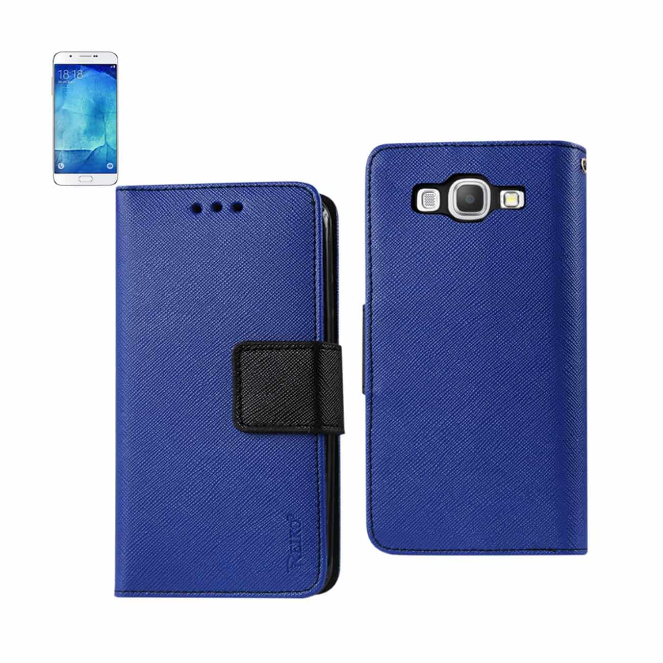 SAMSUNG GALAXY A8 3-IN-1 WALLET CASE IN NAVY