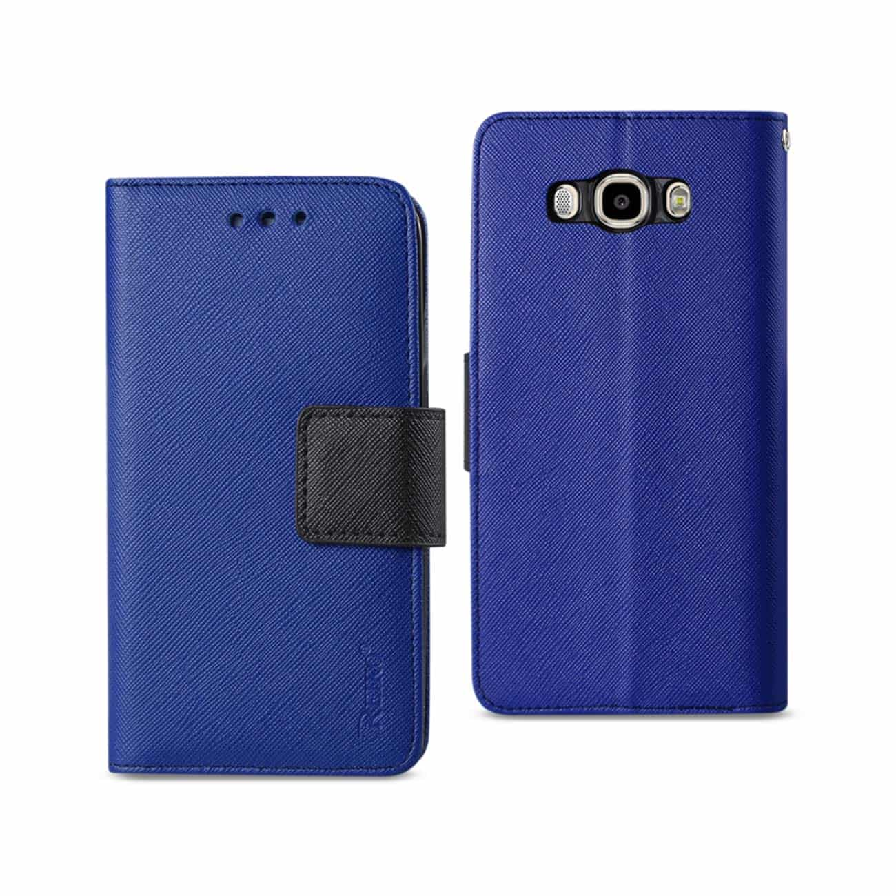 SAMSUNG GALAXY J7 (2016) 3-IN-1 WALLET CASE IN NAVY