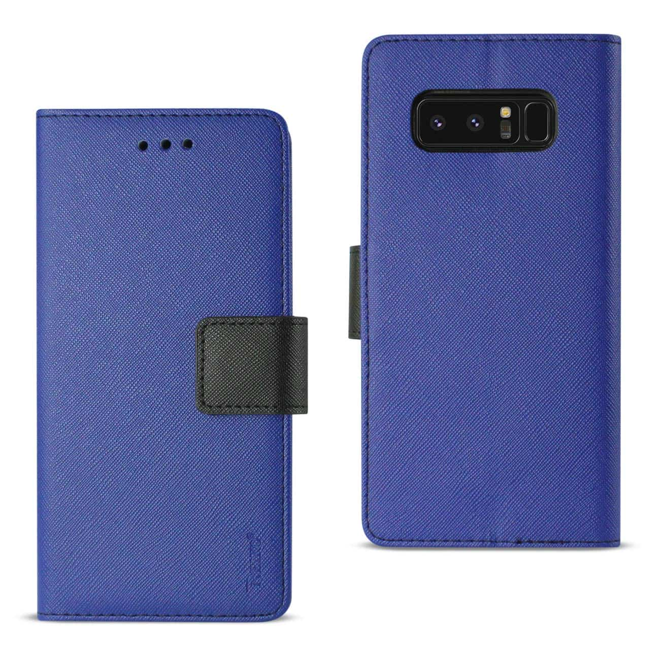 SAMSUNG GALAXY NOTE 8 3-IN-1 WALLET CASE IN NAVY