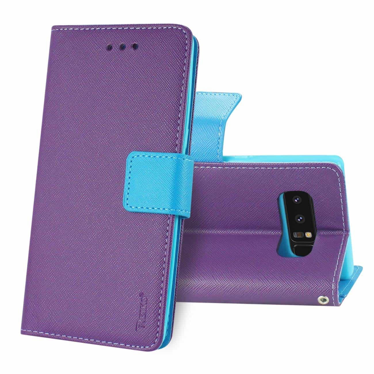 SAMSUNG GALAXY NOTE 8 3-IN-1 WALLET CASE IN PURPLE