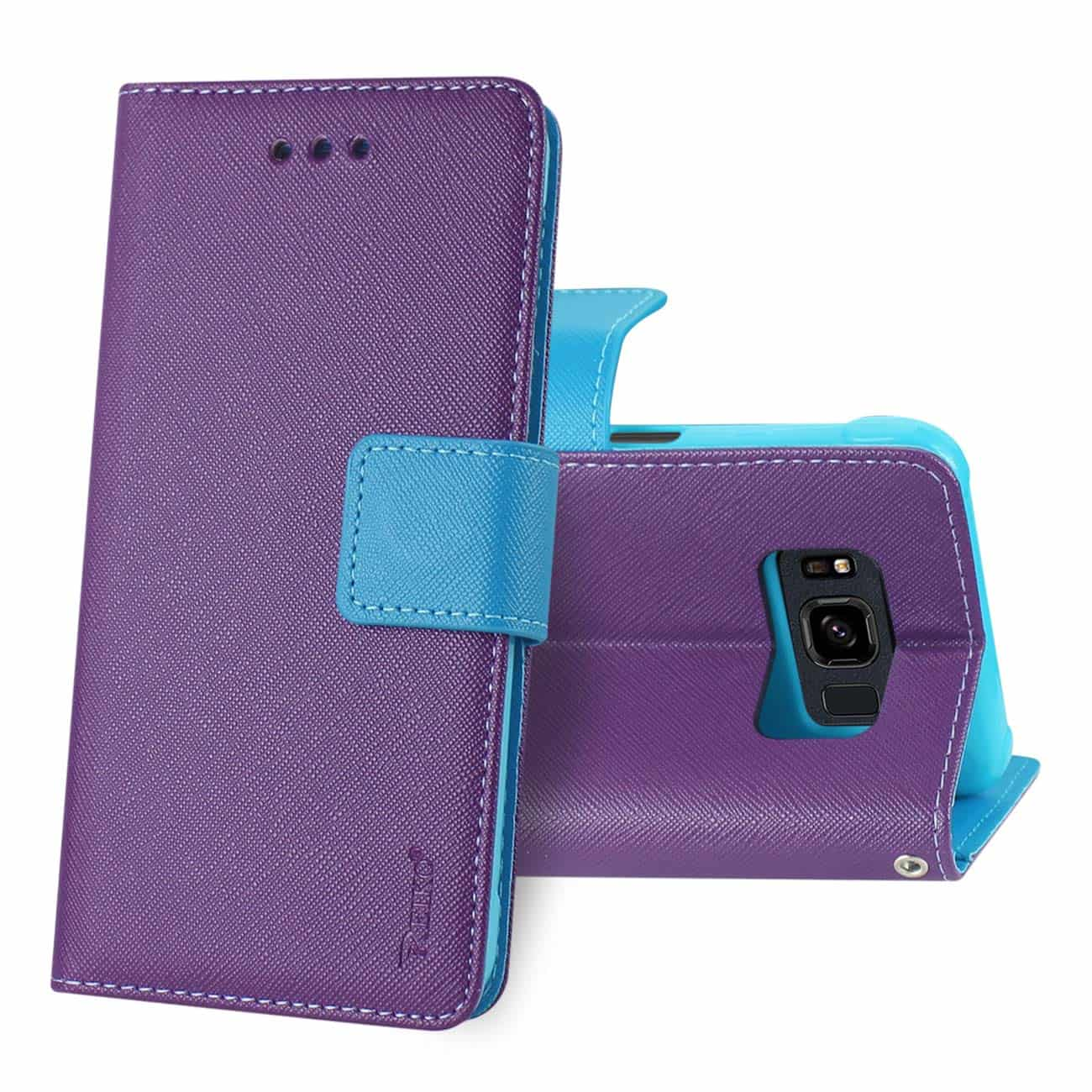SAMSUNG GALAXY S8 ACTIVE 3-IN-1 WALLET CASE IN PURPLE