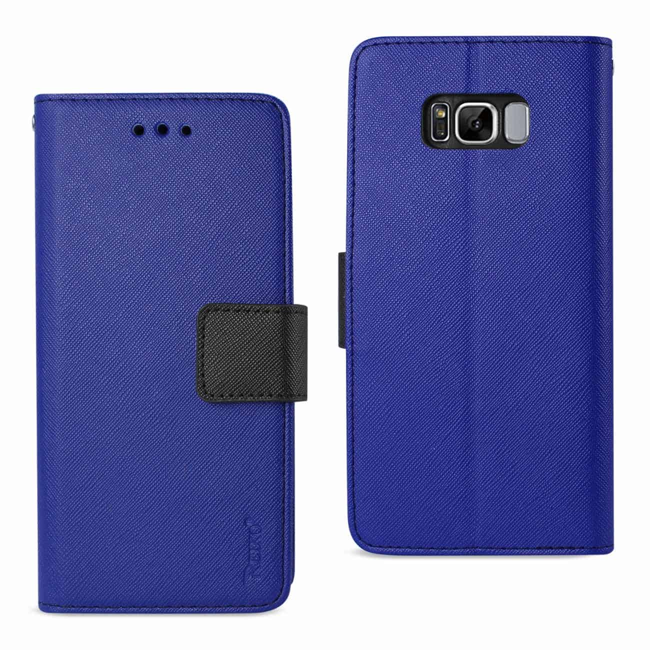 SAMSUNG GALAXY S8 3-IN-1 WALLET CASE IN NAVY