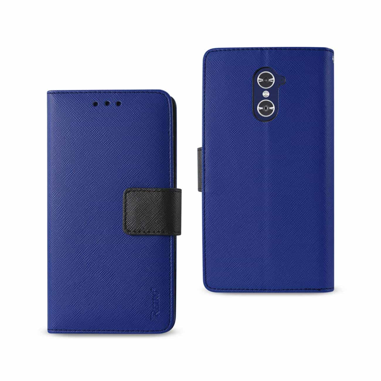 ZTE GRAND X MAX 2 3-IN-1 WALLET CASE IN NAVY