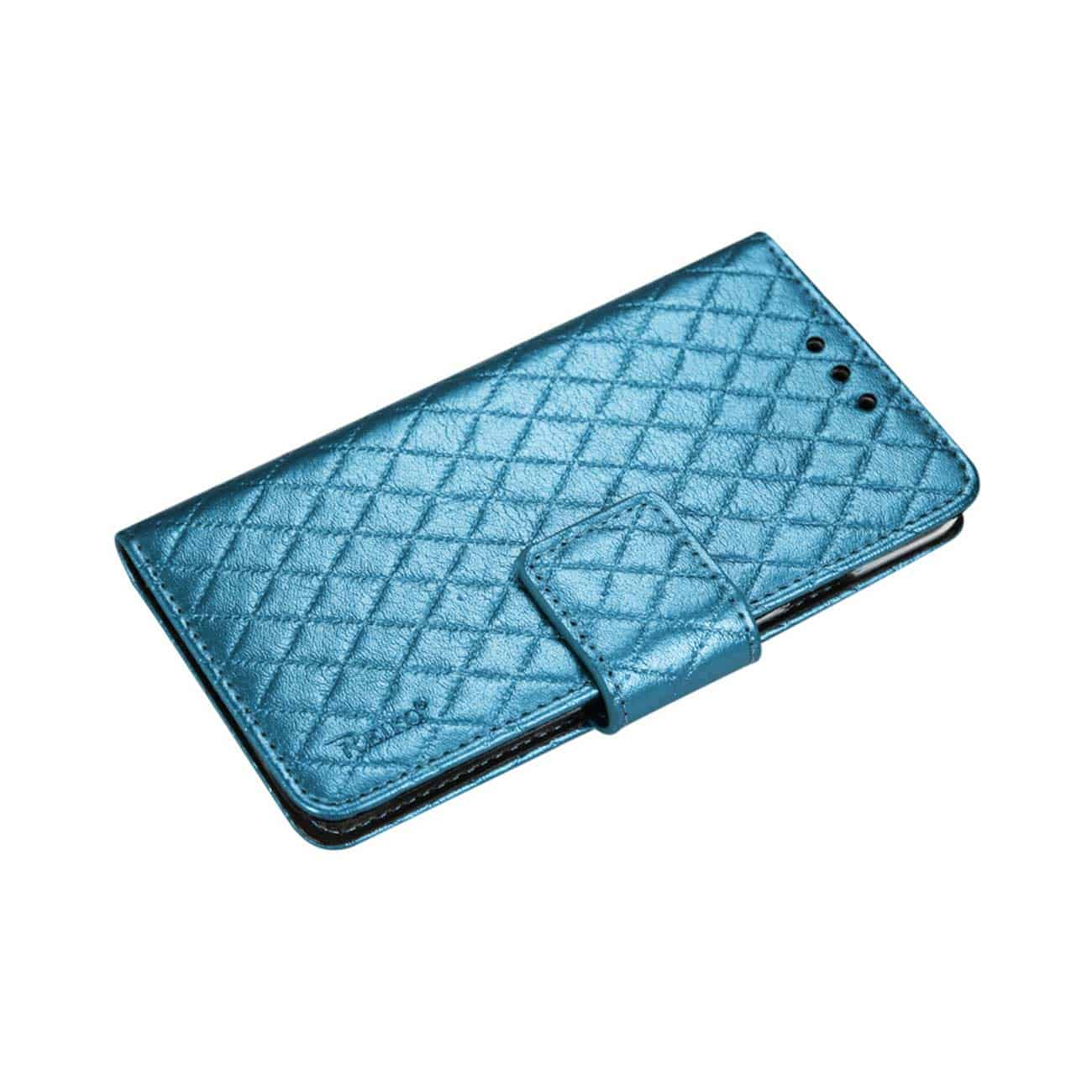 SAMSUNG GALAXY NOTE 4 RHOMBUS WALLET CASE IN BLUE