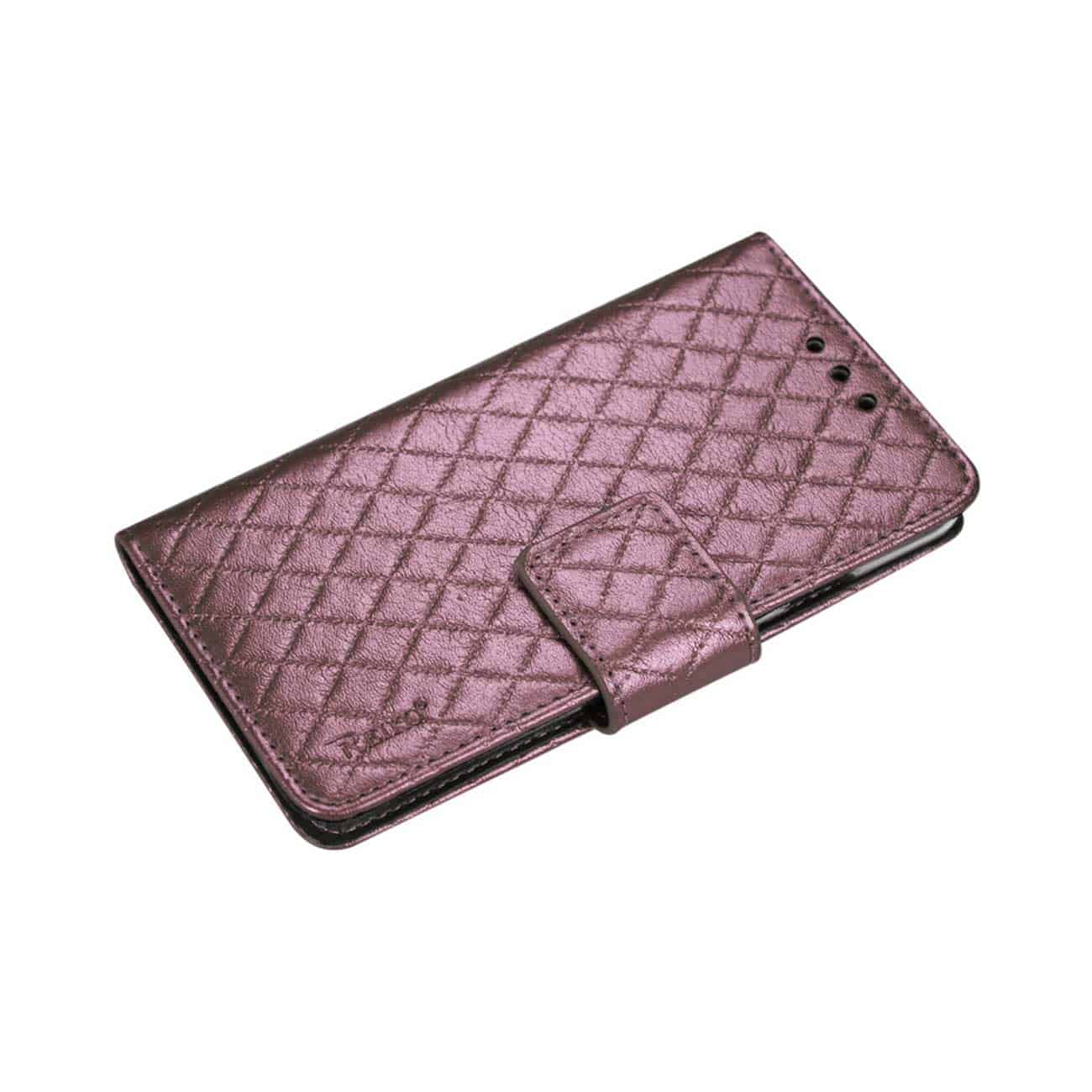 SAMSUNG GALAXY NOTE 4 RHOMBUS WALLET CASE IN PINK