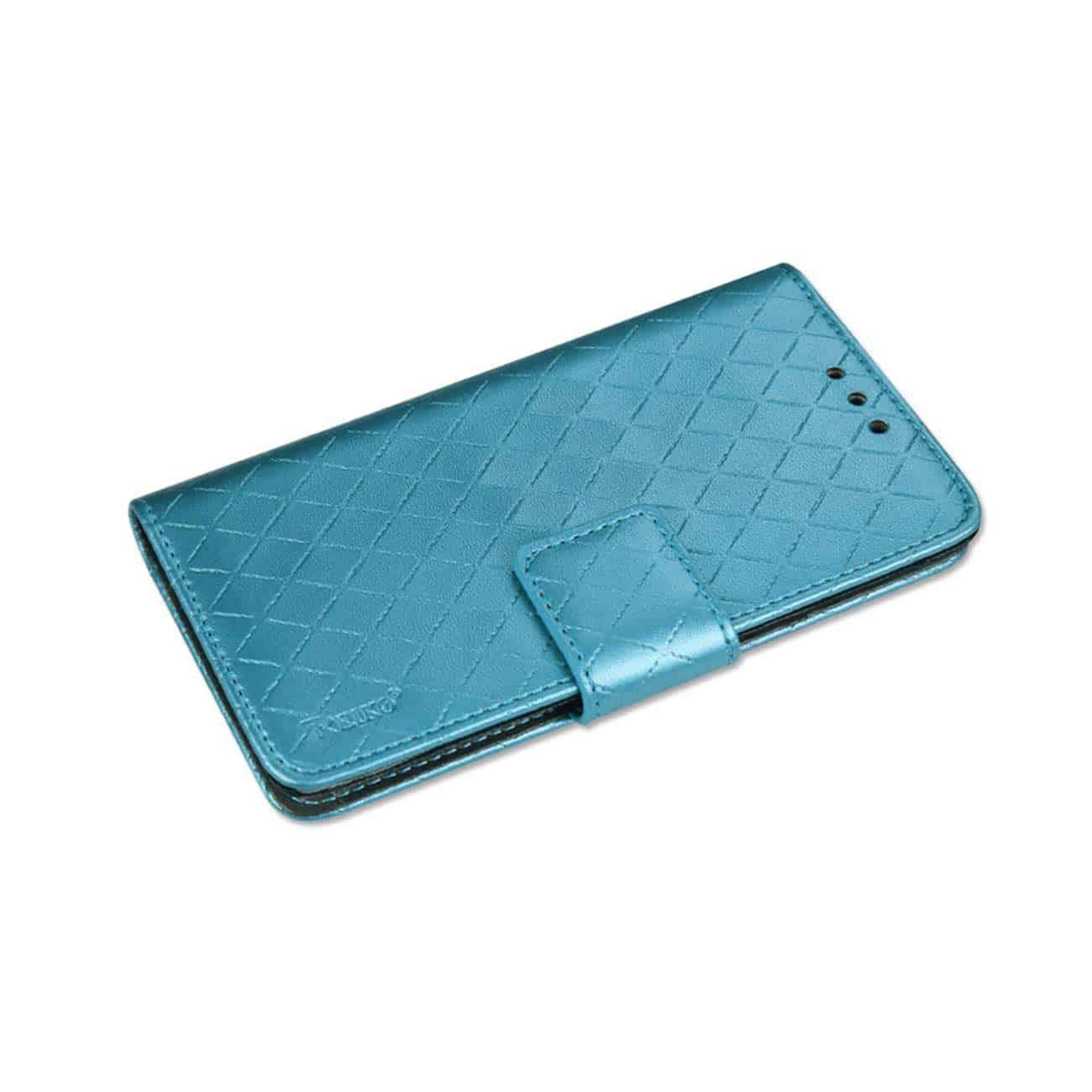 SAMSUNG GALAXY S6 RHOMBUS WALLET CASE IN BLUE
