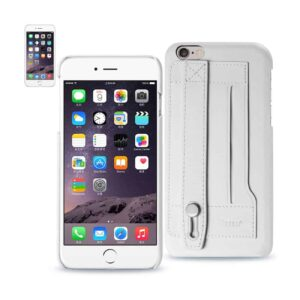 IPHONE 6 PLUS GENUINE LEATHER HAND STRAP CASE IN IVORY