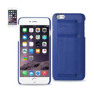IPHONE 6 PLUS RFID GENUINE LEATHER CASE PROTECTION AND KEY HOLDER IN ULTRAMARINE