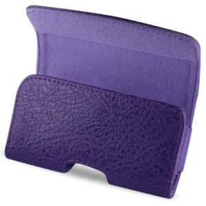 HORIZONTAL POUCH HP1022A BLACKBERRY 8330 PURPLE 4.30 X 2.40 X 0.60 INCHES