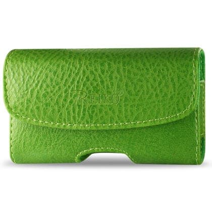 HORIZONTAL POUCH HP1022A HTC HD2 T8585 GREEN 4.9X2.7X0.5 INCHES