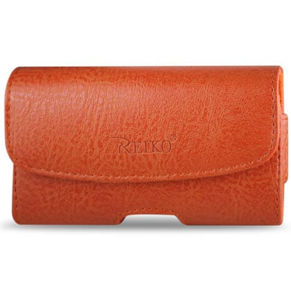 HORIZONTAL POUCH HP1022A HTC HD2 T8585 ORANGE 4.9X2.7X0.5 INCHES